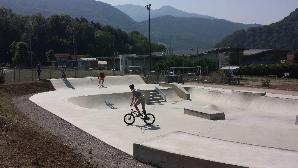 Skatepark ugine for Centre atlantis ugine