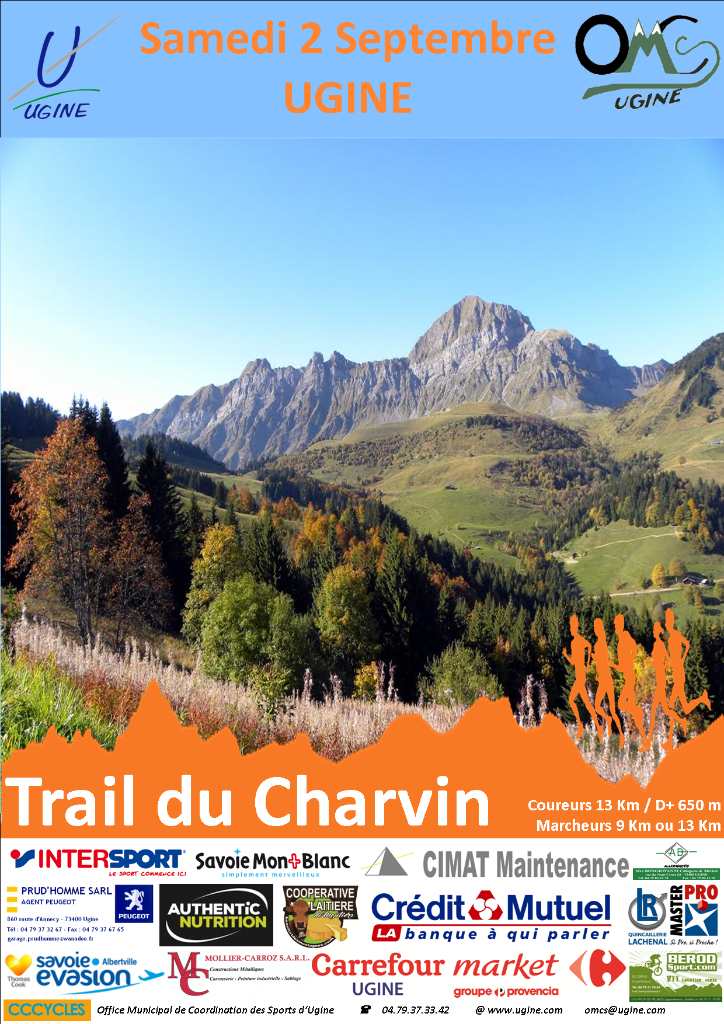 Le trail du charvin ugine for Centre atlantis ugine